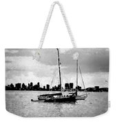 San Diego Bay Sailboats Weekender Tote Bag
