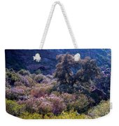 San Diego County Canyon Weekender Tote Bag
