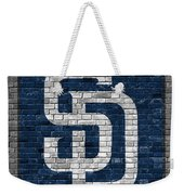 San Diego Padres Brick Wall Weekender Tote Bag For Sale By Joe Hamilton