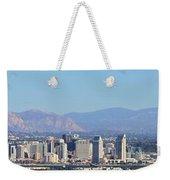 San Diego Pano Weekender Tote Bag