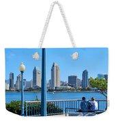 San Diego Skyline Weekender Tote Bag