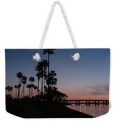 San Diego Sunset With Palm Trees Weekender Tote Bag