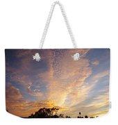 San Diego Sunsrise 3 7/12/15 Weekender Tote Bag