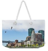 San Francisco Waterfront Weekender Tote Bag