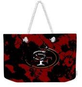 San Francisco 49ers 1b Weekender Tote Bag