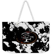 San Francisco 49ers B1 Weekender Tote Bag
