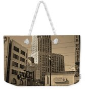 San Francisco Architecture, 2007 Sepia Weekender Tote Bag