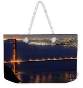 San Francisco At Night Weekender Tote Bag
