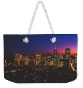 San Francisco At Sunset Weekender Tote Bag