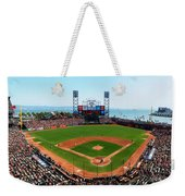 San Francisco Ballpark Weekender Tote Bag