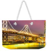 San Francisco - Bay Bridge Weekender Tote Bag