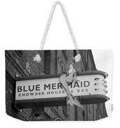 San Francisco Blue Mermaid Bw Weekender Tote Bag