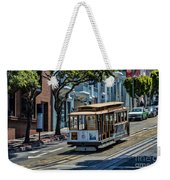 San Francisco, Cable Cars -2 Weekender Tote Bag