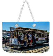 San Francisco, Cable Cars -3 Weekender Tote Bag