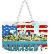 San Francisco California Weekender Tote Bag