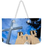 San Francisco De Asis - Rancho De Taos Weekender Tote Bag