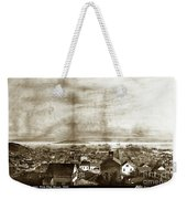 San Francisco, From Clay Street, 1855 Weekender Tote Bag