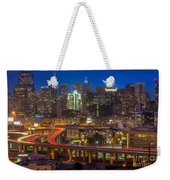 San Francisco From Potrero Hill Weekender Tote Bag by Inge Johnsson