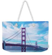 San Francisco Golden Gate Bridge Weekender Tote Bag
