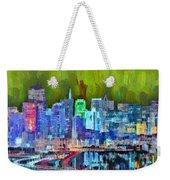 San Francisco Skyline 115 - Pa Weekender Tote Bag