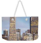 San Francisco Skyline 2 Weekender Tote Bag