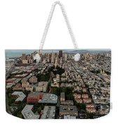 San Francisco Skyline And Coit Towersan Francisco Skyline And Coit Tower Weekender Tote Bag