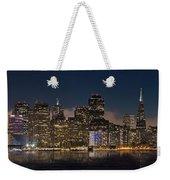 San Francisco Skyline Weekender Tote Bag