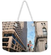 San Francisco Street View - Parc 55  Weekender Tote Bag