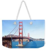 San Francisco's Golden Gate Bridge Weekender Tote Bag
