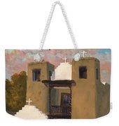 San Geronimo De Taos Spanish Mission Weekender Tote Bag