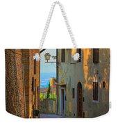 San Gimignano Alley Weekender Tote Bag