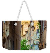 San Gimignano Archway Weekender Tote Bag by Inge Johnsson