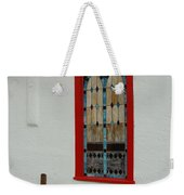 San Iglesia Church Window Weekender Tote Bag
