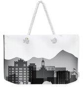 San Jose Graphic Skyline Weekender Tote Bag