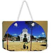 San Juan Chamula Church In Chiapas, Mexico Weekender Tote Bag
