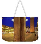 San Marco At Night Weekender Tote Bag