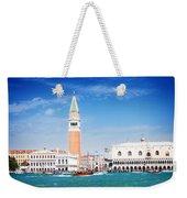 San Marco Square Waterfront Weekender Tote Bag