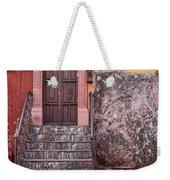 San Miguel Steps And Door Weekender Tote Bag