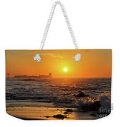 Sancti Petri Castle At Sunset San Fernando Cadiz Spain  Weekender Tote Bag