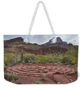 Sanctuary Cove Labyrinth Weekender Tote Bag