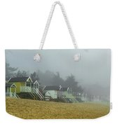 Sand And Huts And Fog Weekender Tote Bag