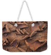 Sand And Mud Curls Weekender Tote Bag