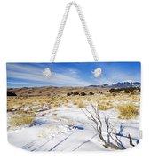Sand And Snow Weekender Tote Bag