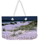 Sand Beach And Grass Weekender Tote Bag