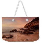 Sand Beach At Sunrise Weekender Tote Bag