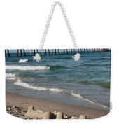 Sand Castles And Piers Weekender Tote Bag
