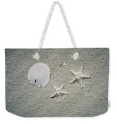 Sand Dollar And Starfish On The Beach Weekender Tote Bag