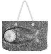 Sand Dollar And Tide Weekender Tote Bag