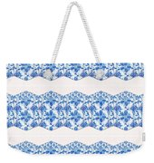 Sand Dollar Delight Pattern 4 Weekender Tote Bag by Monique Faella
