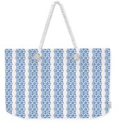 Sand Dollar Delight Pattern 5 Weekender Tote Bag by Monique Faella